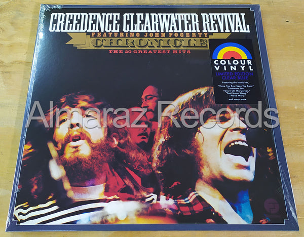 Creedence Clearwater Revival Chronicle Limited Edition Clear Blue Vinyl LP