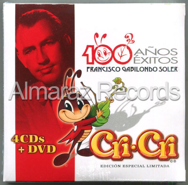 Cri-Cri 100 Años 100 Exitos 4CD+DVD