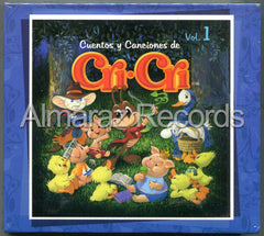 Cri-Cri Cuentos Y Canciones Vol. 1 3CD