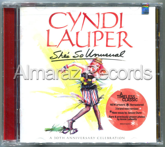 Cyndi Lauper She's So Unusual CD - Almaraz Records | Tienda de Discos y Películas  - 1