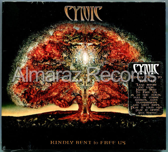Cynic Kindly Bent To Free Us CD - Almaraz Records | Tienda de Discos y Películas  - 1