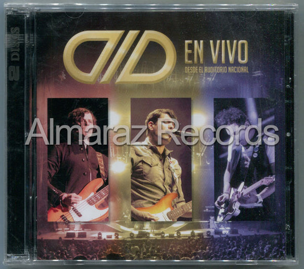 DLD En Vivo Desde El Auditorio Nacional CD+DVD