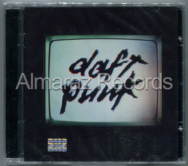 Daft Punk Human After All CD - Almaraz Records | Tienda de Discos y Películas  - 1