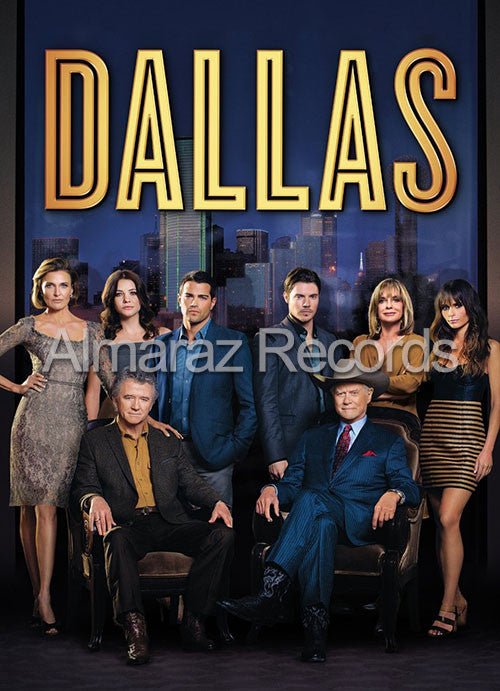 Dallas Temporada 2 4DVD - Dallas  2013 - Almaraz Records | Tienda de Discos y Películas