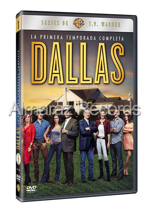 Dallas Temporada 1 3DVD - Dallas  2012 - Almaraz Records | Tienda de Discos y Películas