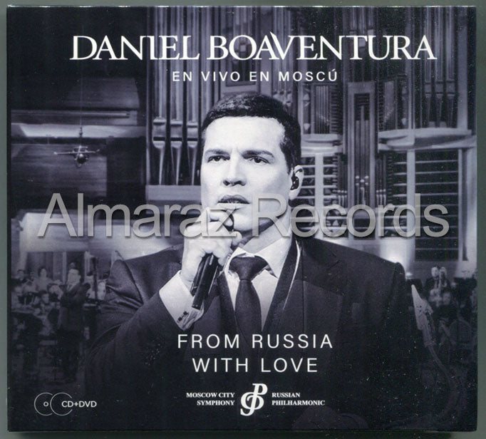 Daniel Boaventura From Russia With Love CD+DVD