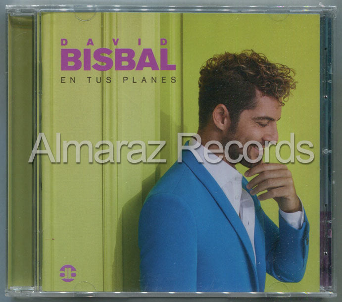 David Bisbal En Tus Planes CD