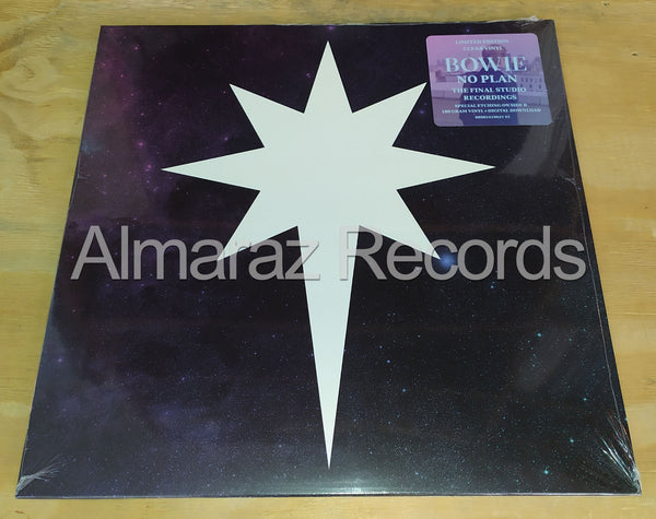 David Bowie No Plan EP Vinyl LP
