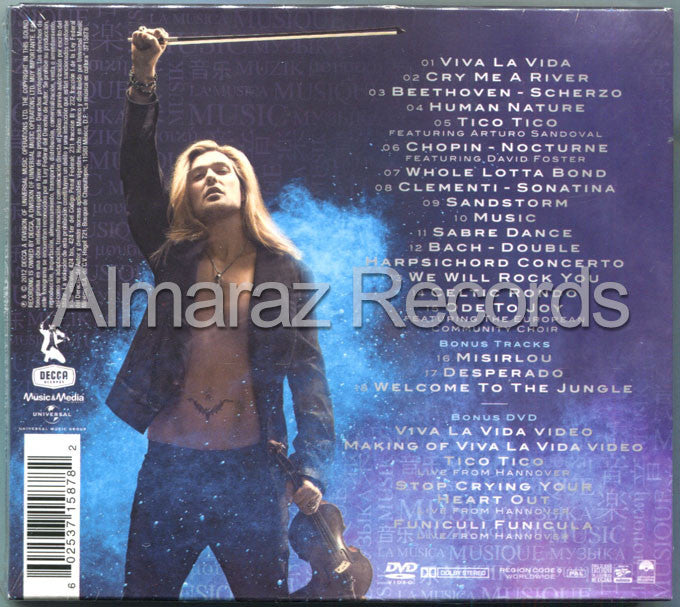 David Garret Music CD+DVD - Almaraz Records | Tienda de Discos y Películas  - 2