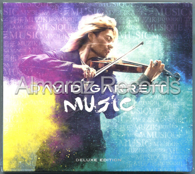 David Garret Music CD+DVD - Almaraz Records | Tienda de Discos y Películas  - 1