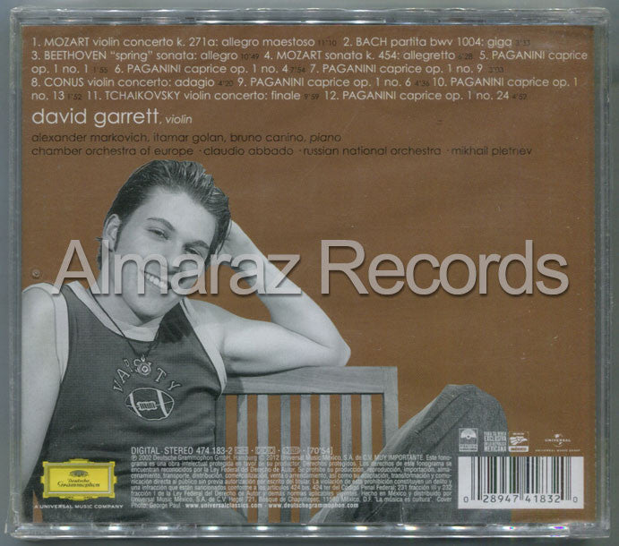 David Garret Pure Classics CD