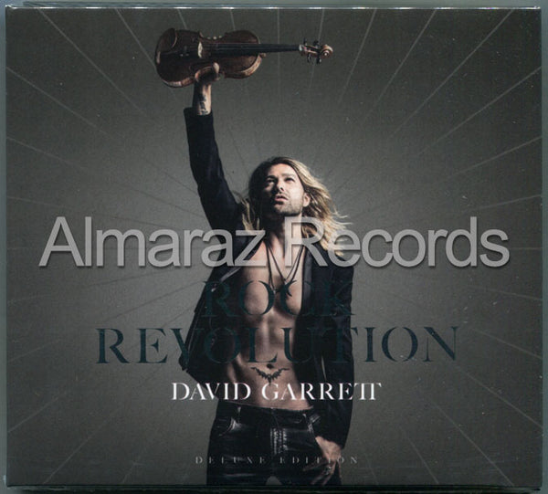 David Garret Rock Revolution Deluxe Edition CD+DVD