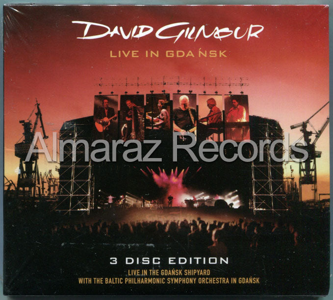 David Gilmour Live In Gdansk 2CD+DVD