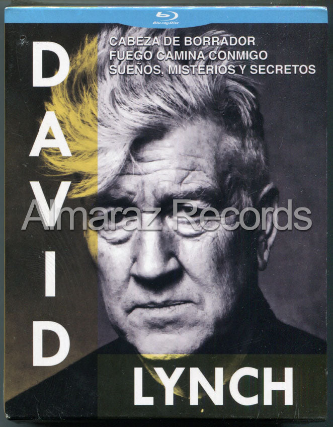 David Lynch 3Blu-Ray