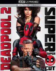 Deadpool 2 Blu-Ray 4K Ultra HD + Blu-Ray