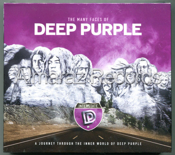 The Many Faces Of Deep Purple 3CD - Almaraz Records | Tienda de Discos y Películas  - 1