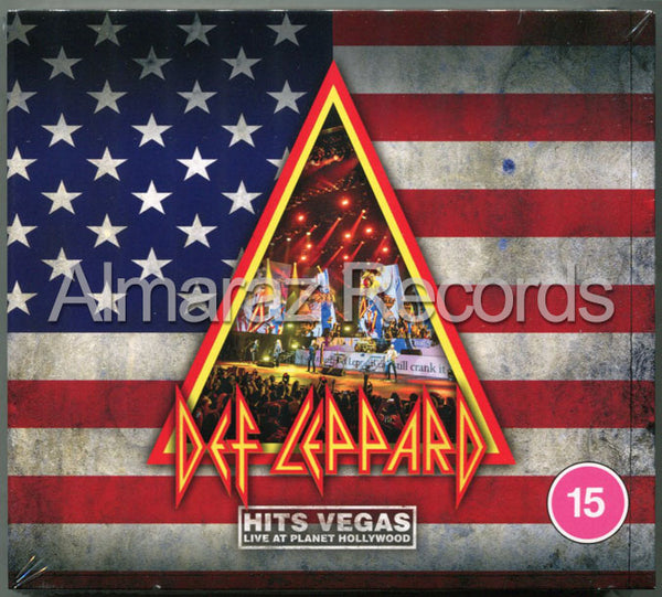 Def Leppard Hits Vegas Live At Planet Hollywood 2CD+Blu-Ray