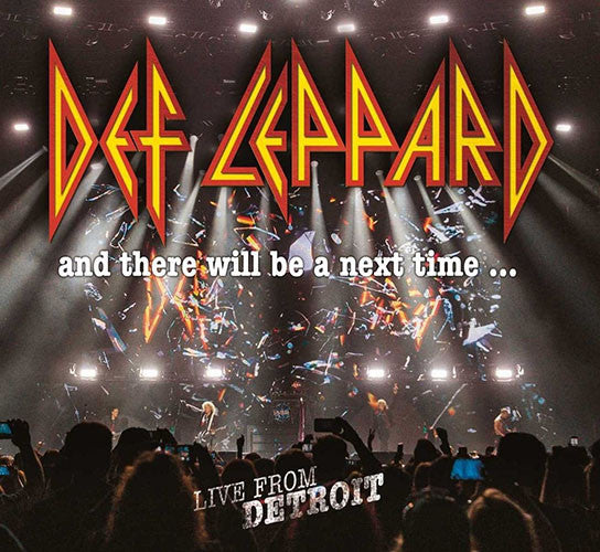 Def Leppard And There Will Be A Next Time Live From Detroit 2CD+DVD