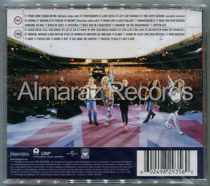 Def Leppard Rock Of Ages The Definitive Collection 2CD - Almaraz Records | Tienda de Discos y Películas  - 2