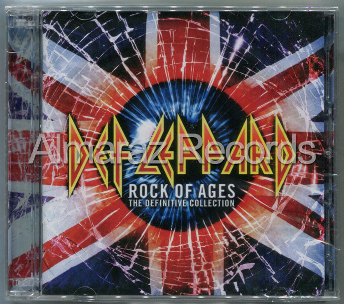 Def Leppard Rock Of Ages The Definitive Collection 2CD - Almaraz Records | Tienda de Discos y Películas  - 1