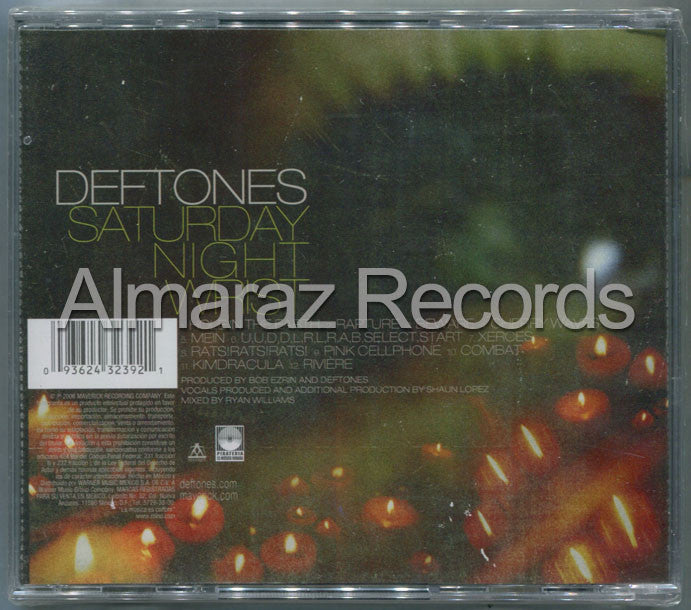 Deftones Saturday Night Wrist CD - Almaraz Records | Tienda de Discos y Películas  - 2