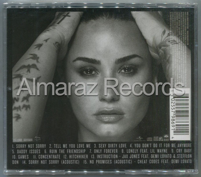 Demi Lovato Tell Me You Love Me Deluxe Edition CD