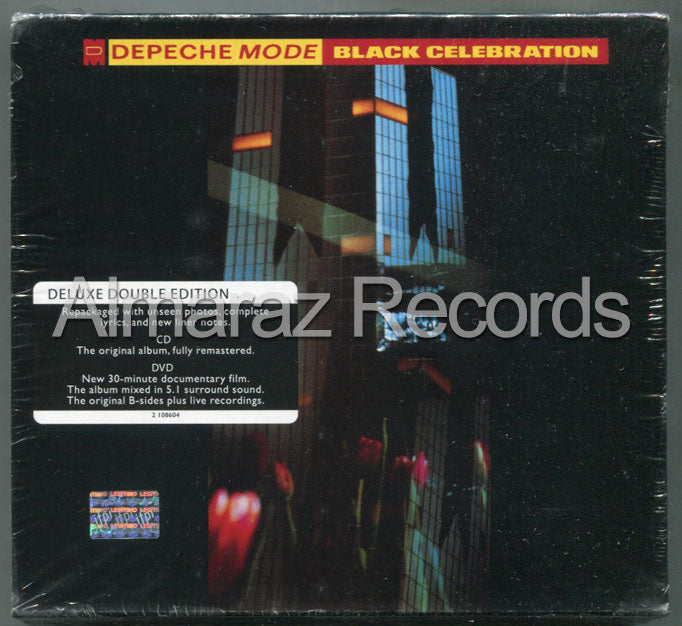 Depeche Mode Black Celebration CD+DVD - Almaraz Records | Tienda de Discos y Películas  - 1