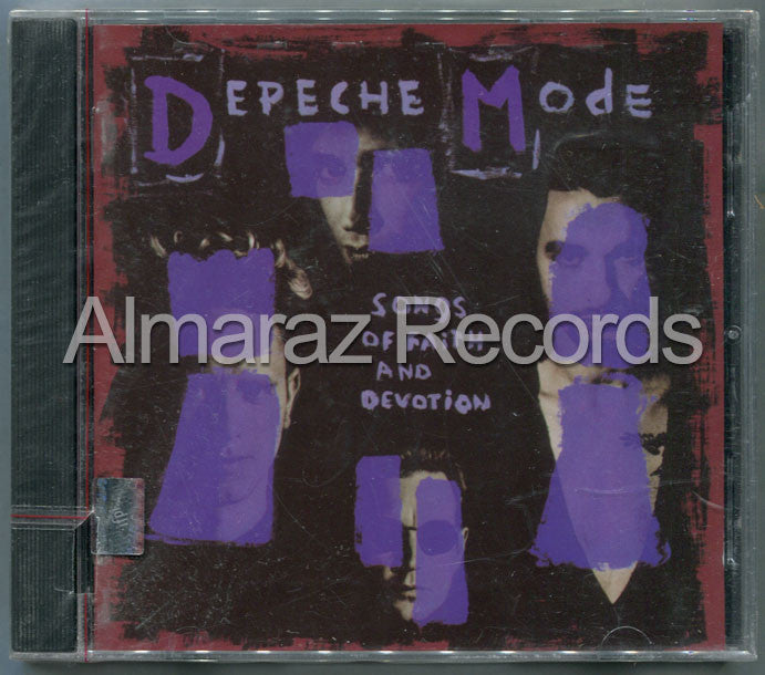 Depeche Mode Songs Of Faith & Devotion CD - Almaraz Records | Tienda de Discos y Películas  - 1