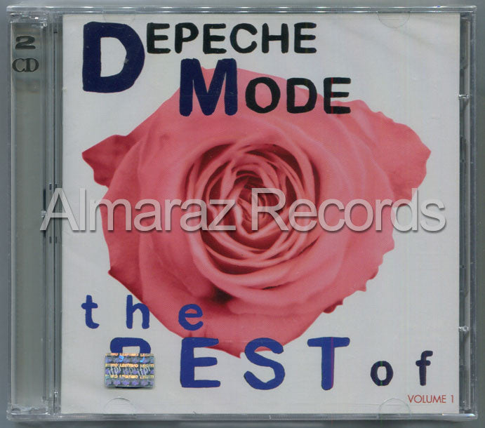 Depeche Mode The Best Of Depeche Mode Vol.1 CD+DVD - Almaraz Records | Tienda de Discos y Películas  - 1