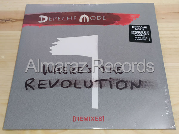 Depeche Mode Where's The Revolution Remixes Vinyl LP