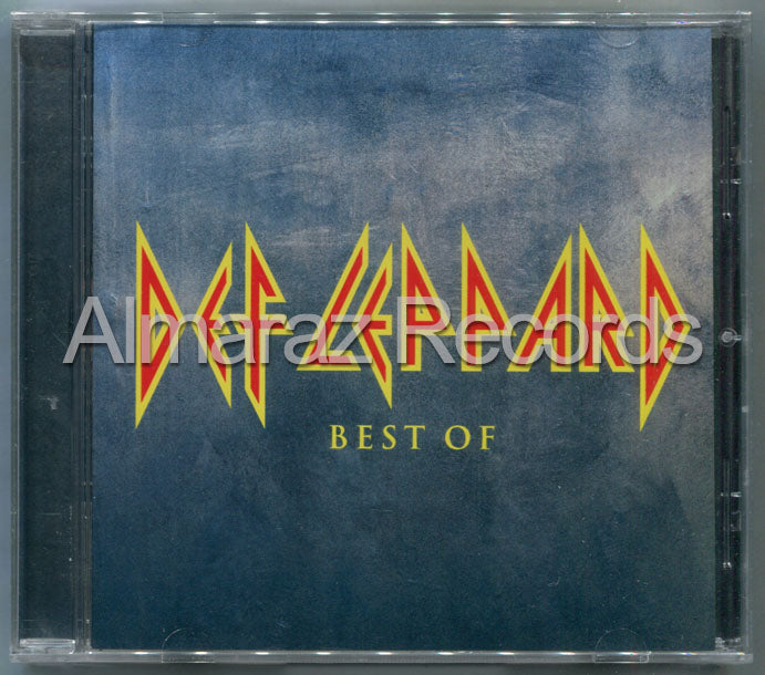 Def Leppard The Best Of Def Leppard CD
