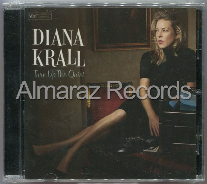 Diana Krall Turn Up The Quiet CD