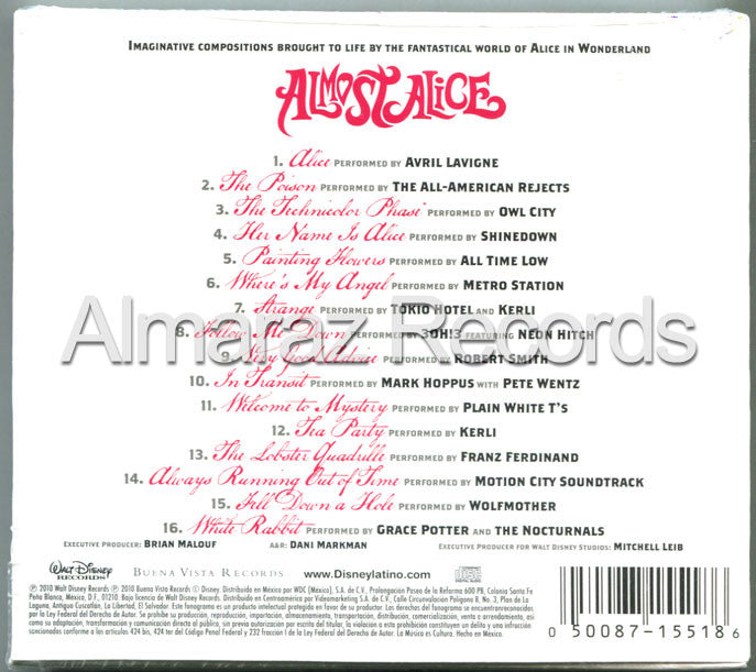 Disney Almost Alice CD - Almaraz Records | Tienda de Discos y Películas  - 2
