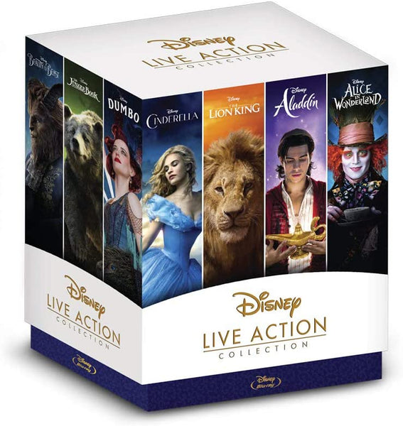 Disney Coleccion Clasicos Live Action Blu-Ray