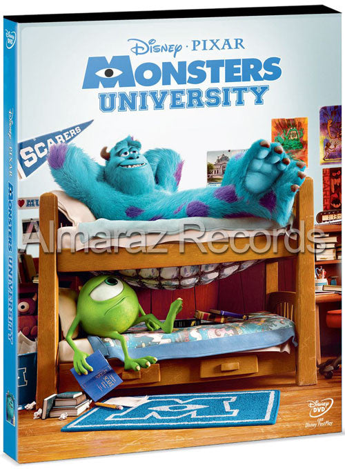 Monsters University DVD - Almaraz Records | Tienda de Discos y Películas