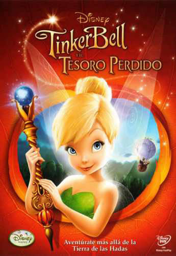 Tinkerbell Y El Tesoro Perdido DVD - And The Lost Treasure - Almaraz Records | Tienda de Discos y Películas