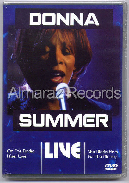 Donna Summer Live DVD - Manhattan Center New York 1999 - Almaraz Records | Tienda de Discos y Películas  - 1