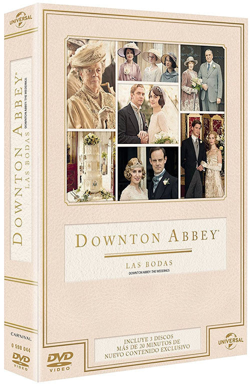 Downton Abbey Las Bodas DVD