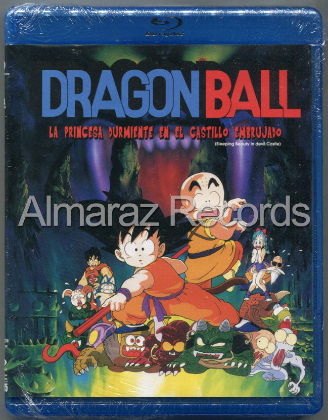 Dragon Ball La Princesa Durmiente En El Castillo Embrujado Blu-Ray