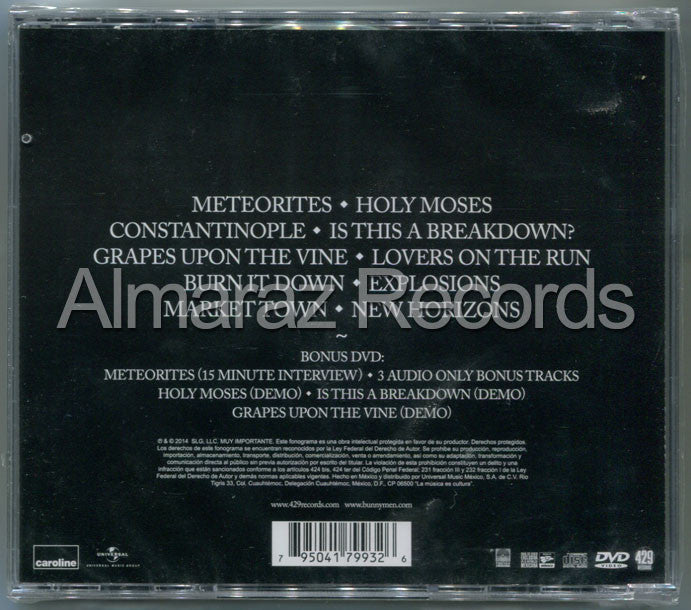 Echo And The Bunnymen Meteorites CD+DVD - Almaraz Records | Tienda de Discos y Películas  - 2