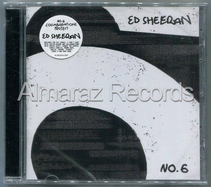 Ed Sheeran No. 6 Collaborations Project CD