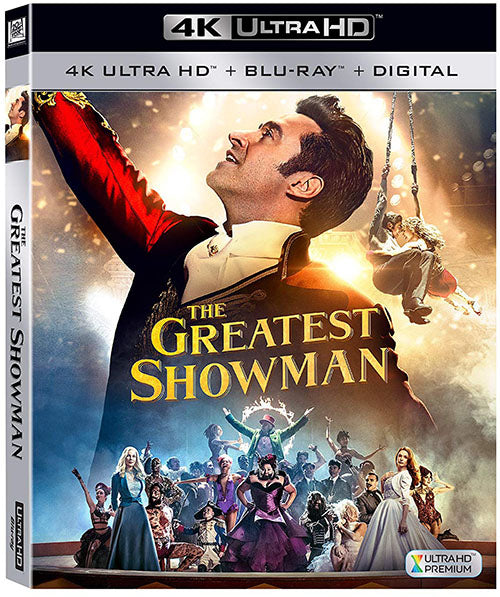 El Gran Showman Blu-Ray 4K Ultra HD + Blu-Ray