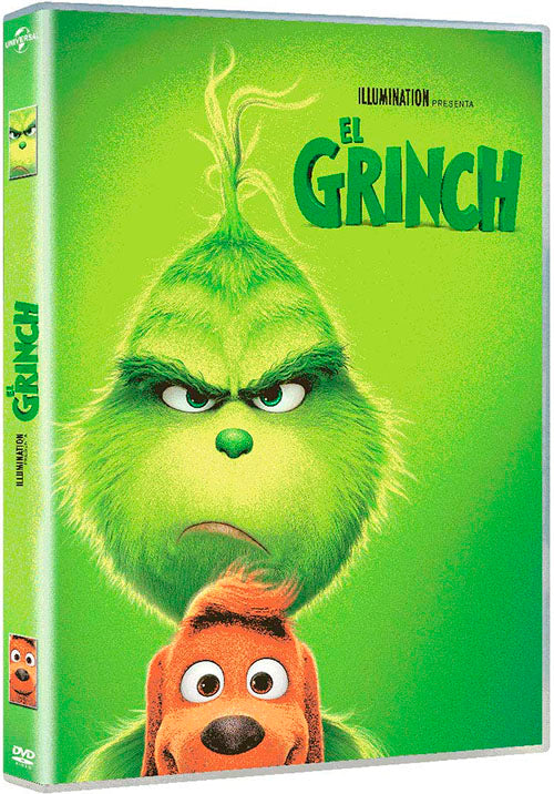 El Grinch 2018 DVD