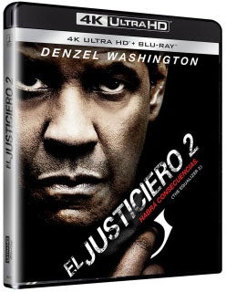 El Justiciero 2 Blu-Ray 4K Ultra HD + Blu-Ray