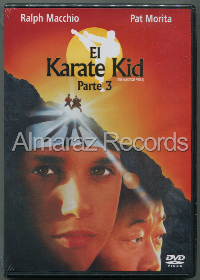 El Karate Kid 3 DVD