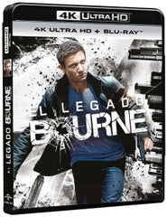 El Legado Bourne Blu-Ray 4K Ultra HD + Blu-Ray