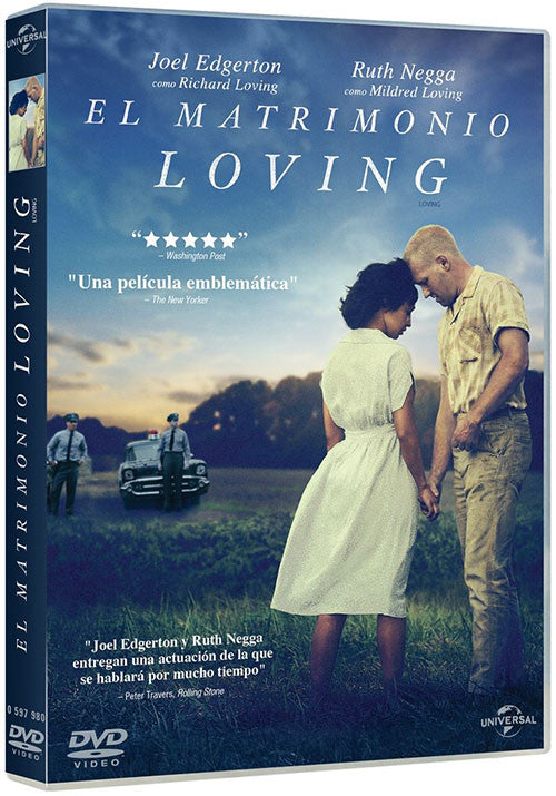 El Matrimonio Loving DVD