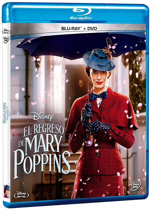 El Regreso De Mary Poppins Blu-Ray+DVD