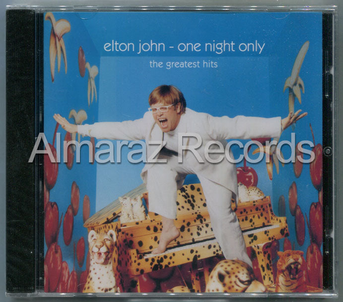 Elton John One Night Only The Greatest Hits CD