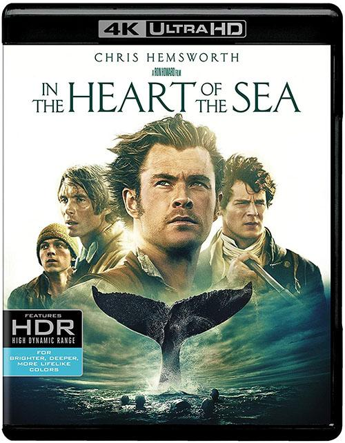 En El Corazon Del Mar Blu-Ray 4K Ultra HD + Blu-Ray